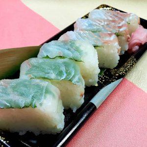 【ホテル彩陽 WAKIGAWA】さん「平戸ひらめ押し寿司 𓆡*」のご紹介です!